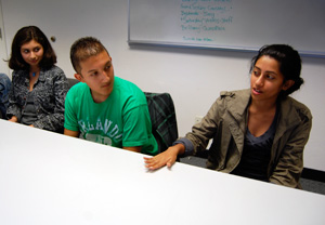 Daisy, Frank and Shivani Patel share their thoughts about poverty.