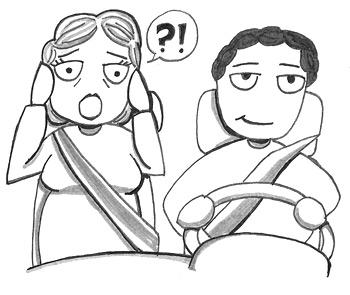 Driving Me Crazy Cartoon